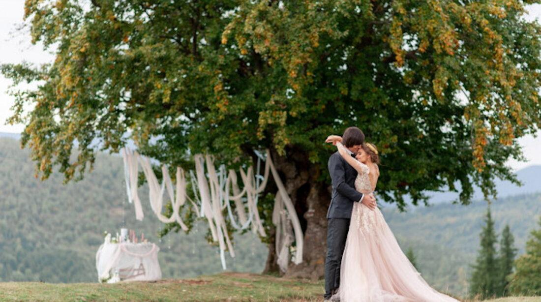 Amatorskie zdjęcia ślubne